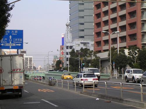 K7-21 駒留陸橋若林交差点